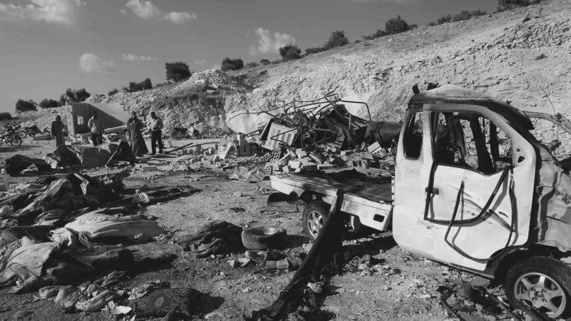 Verwoest Idlib